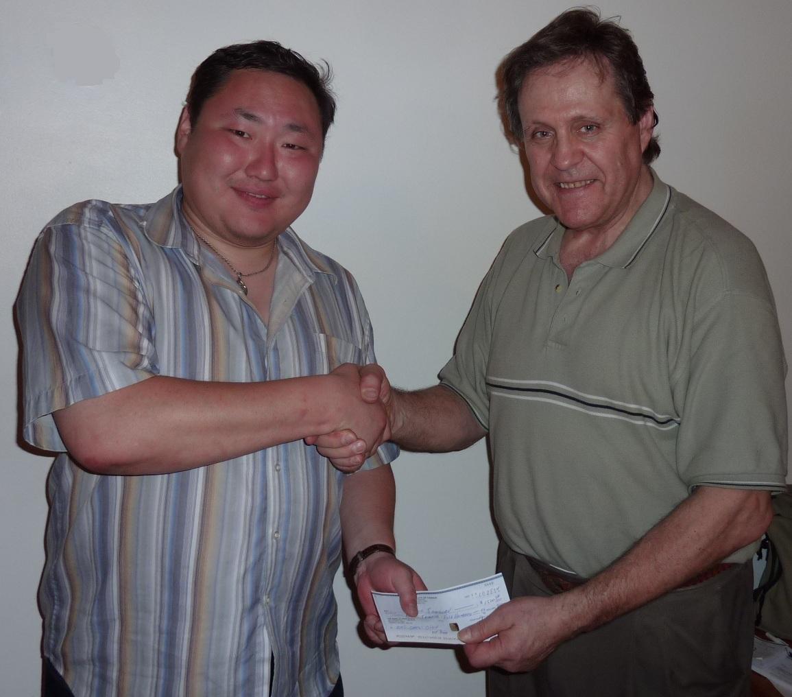 Bator Sambuev & Ted Winick