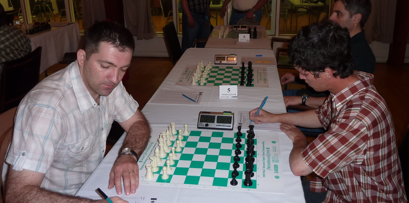 Board 4: Laurentiu Grigorescu - IM Nikolay Noritsyn