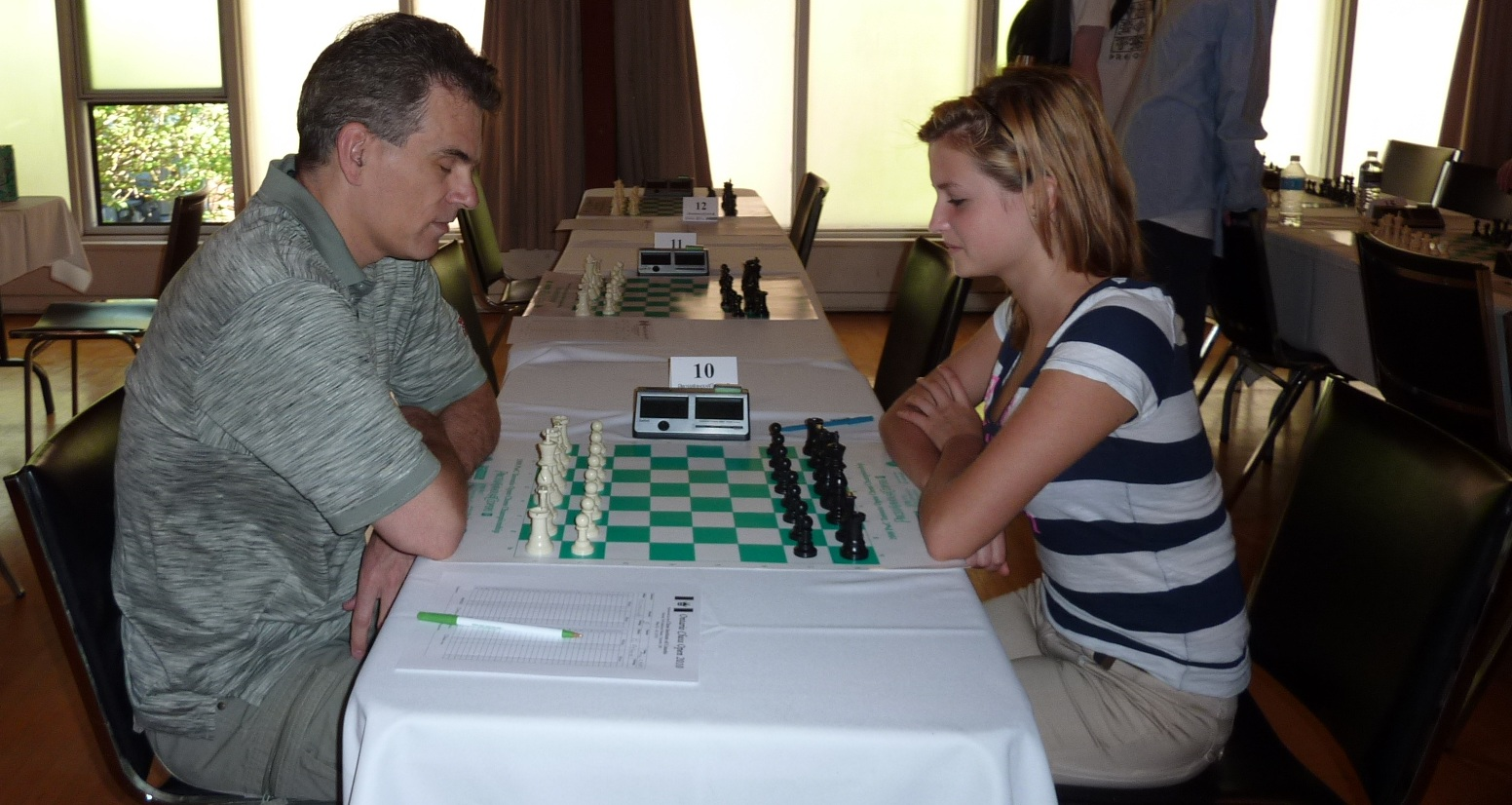 Board 10: David Filipovich - Yelizaveta Orlova