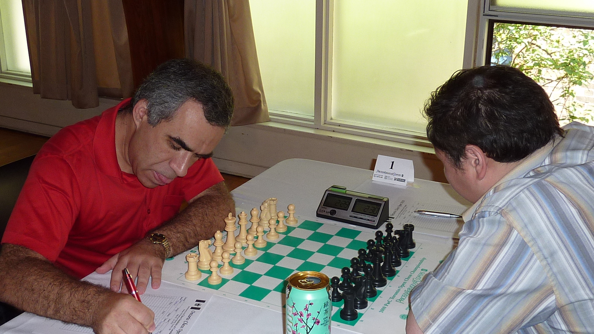 Board 1: Victor Plotkin - GM Bator Sambuev