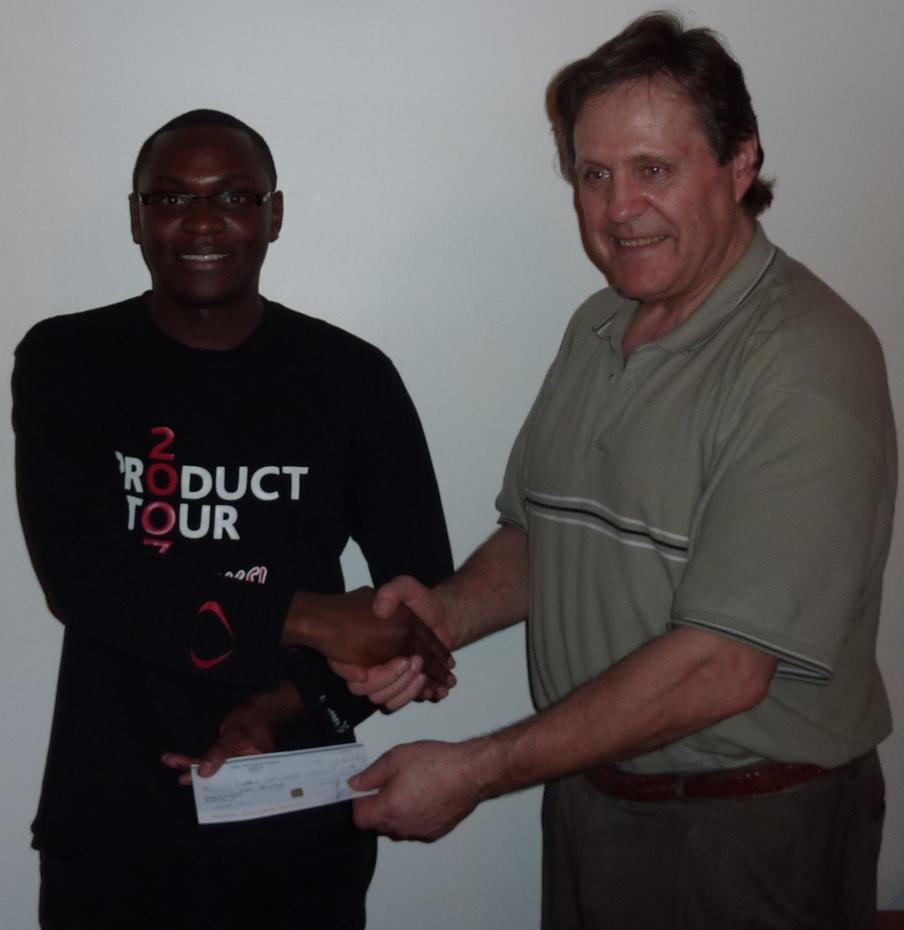 Derick Twesigye & Ted Winick