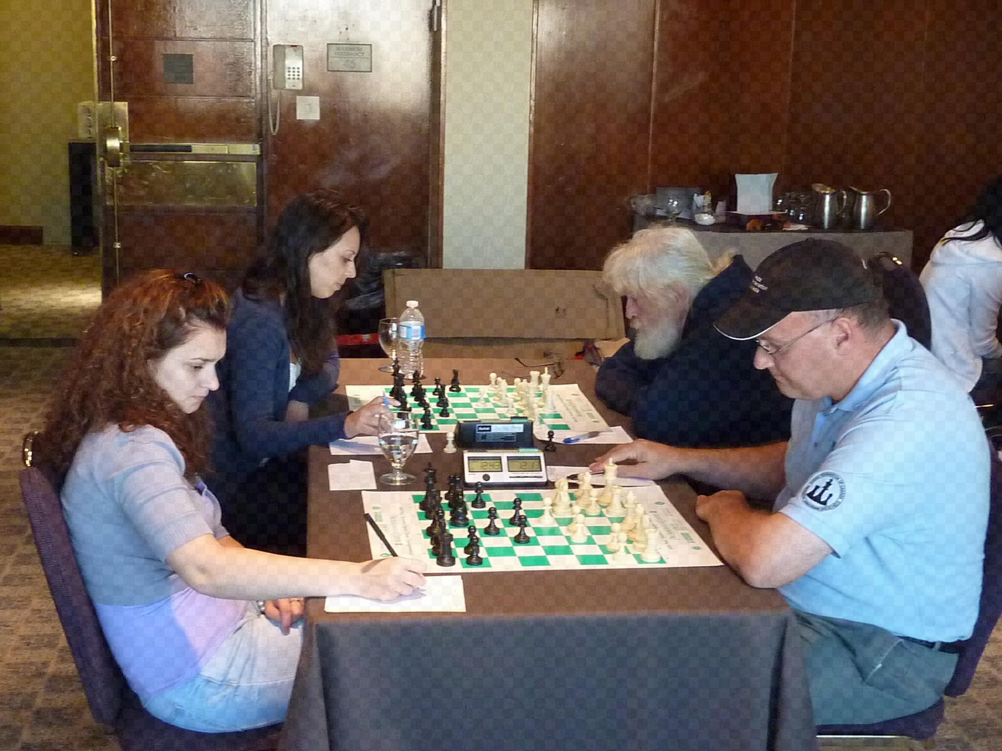 2010 Women vs. Masters Team 7