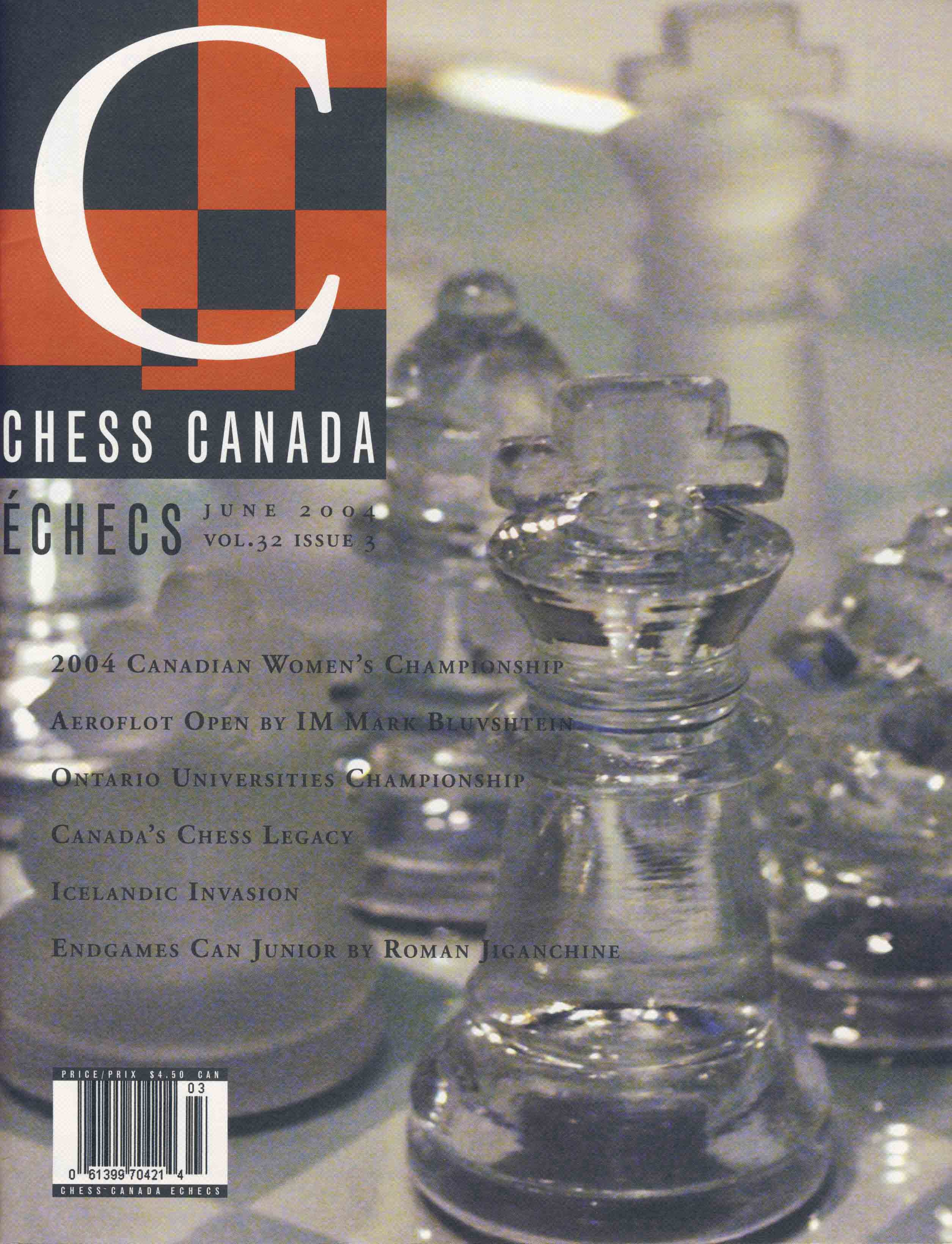 Chess Canada &Eacute;checs 186