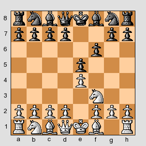 chess how to respond to d5 after e4